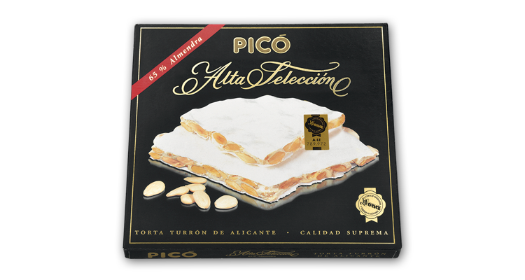 Torta Turrón de Alicante Alta Selección
