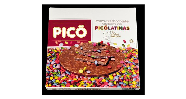 Torta de Chocolate Crujiente con Picolatinas