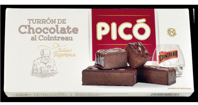 Turrón de Chocolate al Cointreau