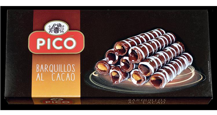 Barquillos al Cacao