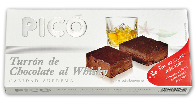 Turron de Chocolate al Whisky