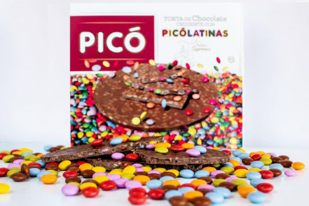 Torta de chocolate con Picólatinas