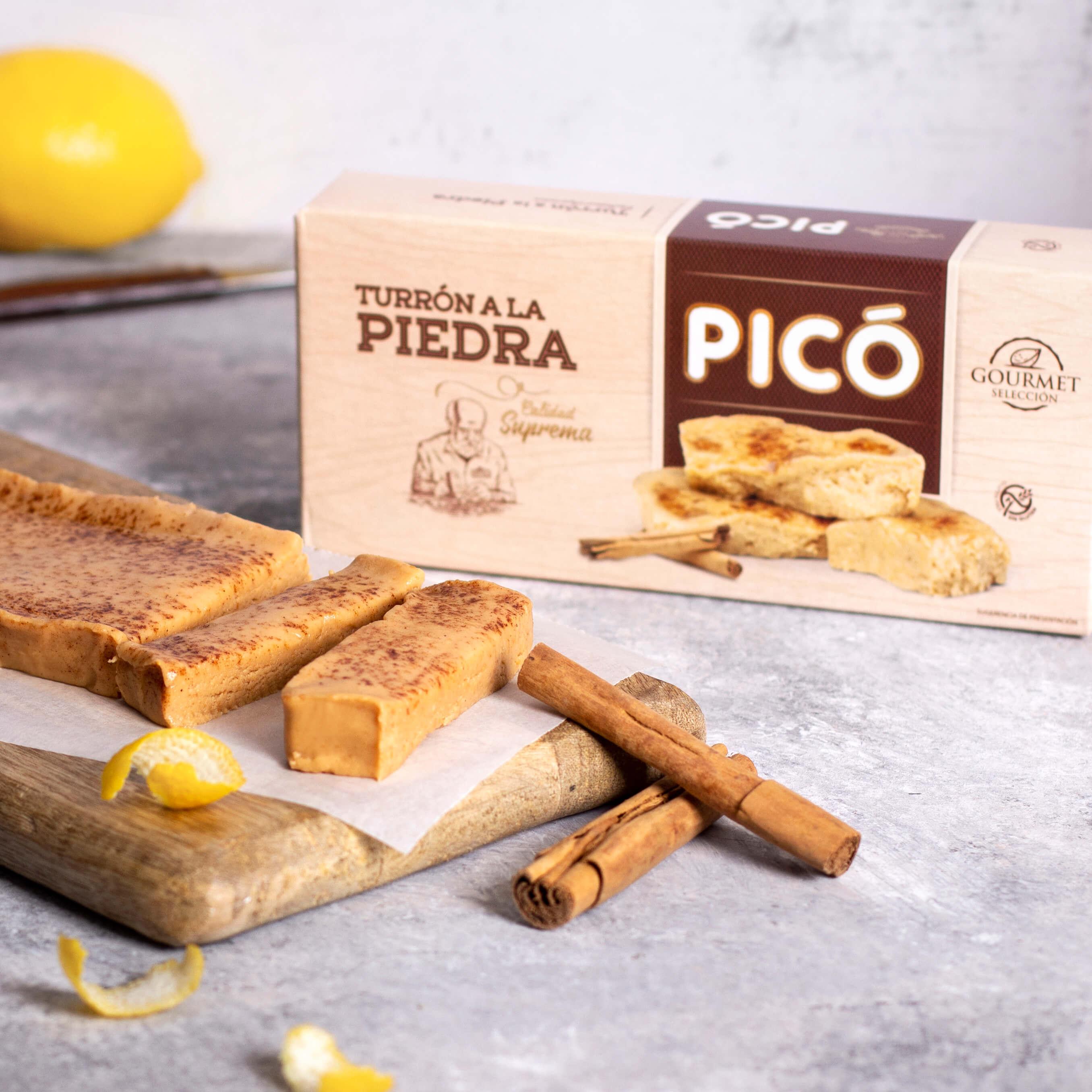 Turrón a la piedra gourmet Picó