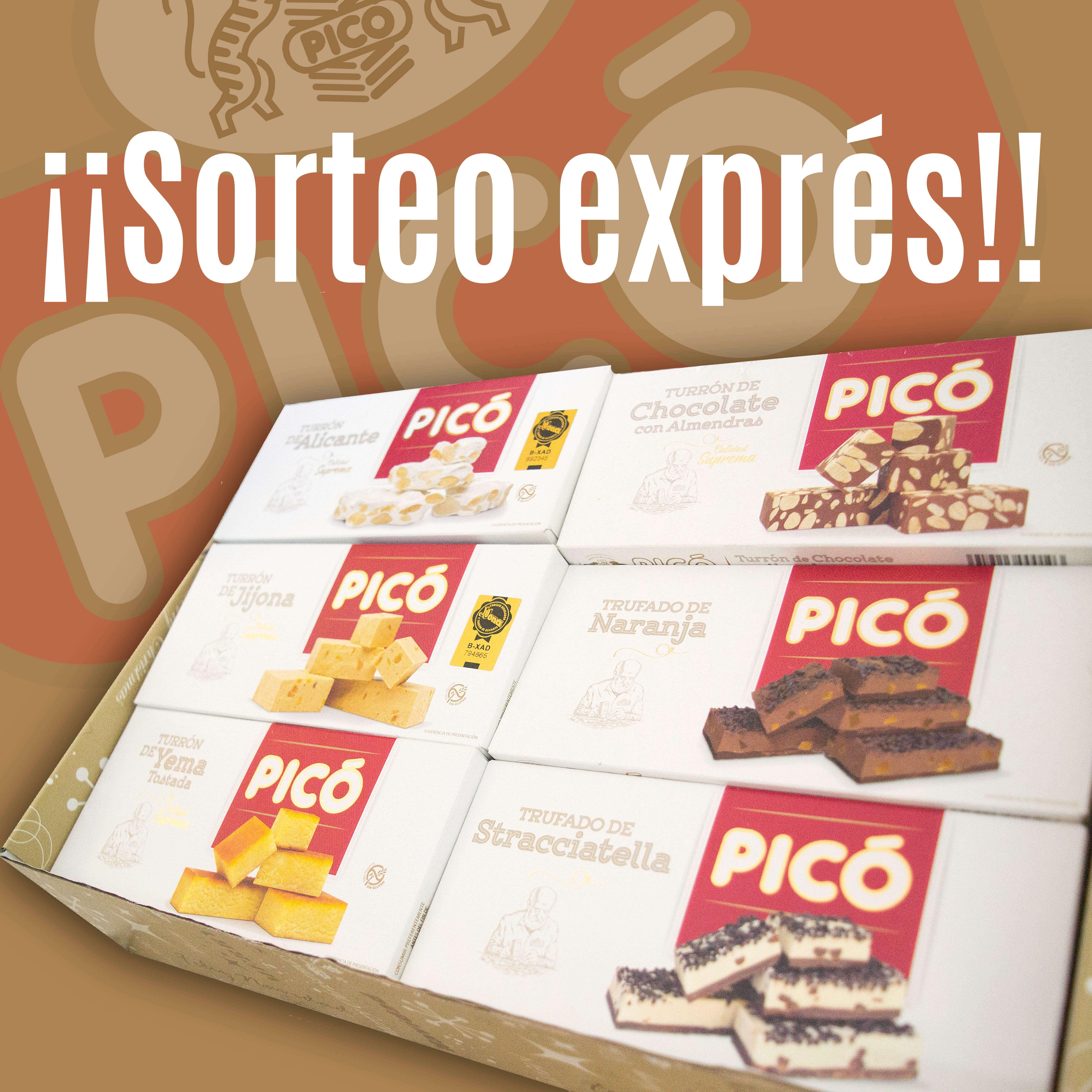 Sorteo Express Turrón Picó 2019