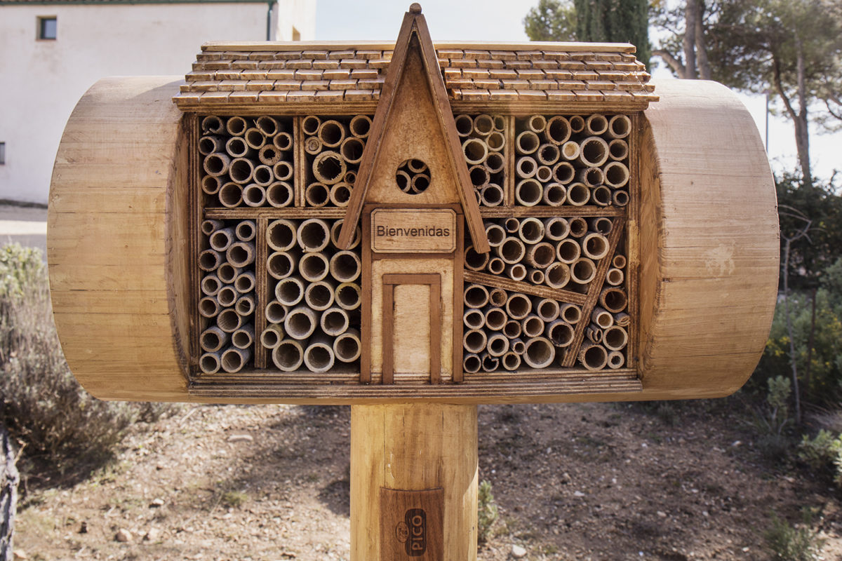 Bee&Bee Turrones Picó Hotel para abejas