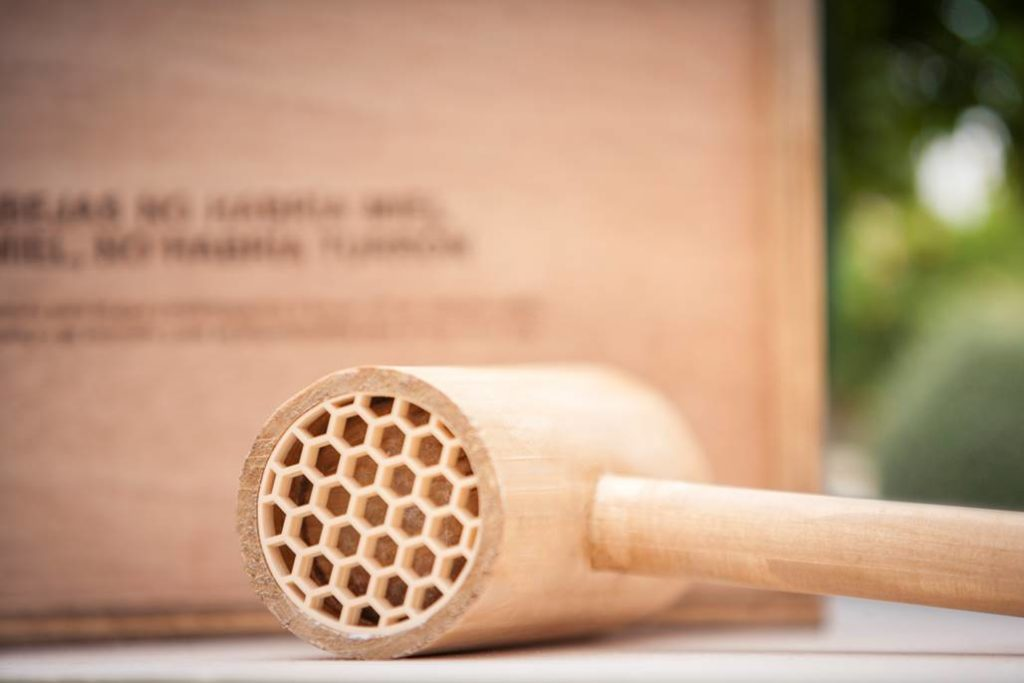 maza refugio para abejas Turrones Picó