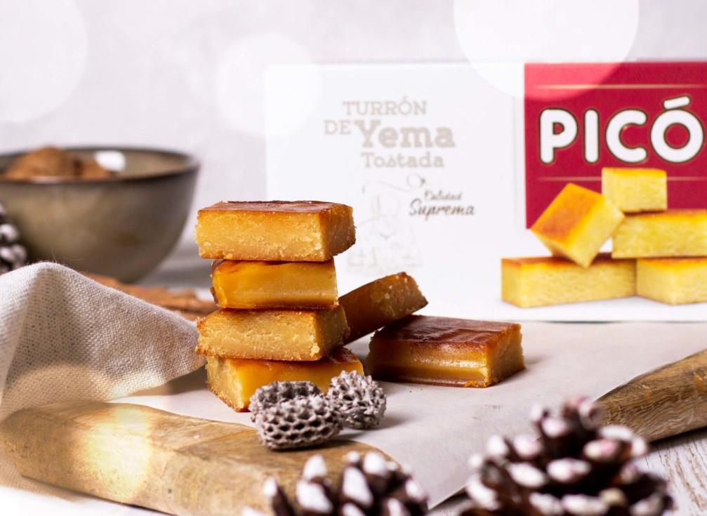 turron de yema tostada Turrones Picó